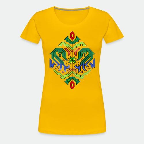 l étoile Mandala - Women's Premium T-Shirt