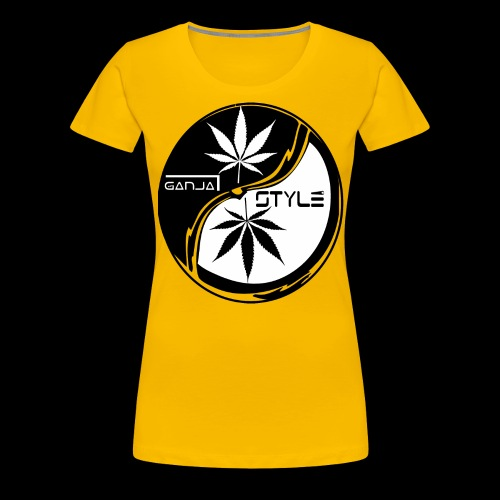 yin yang 2 - Frauen Premium T-Shirt