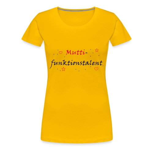 mutti png - Frauen Premium T-Shirt