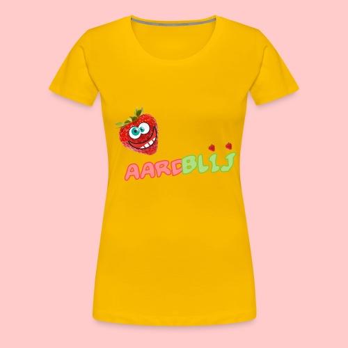 aardblij png - Vrouwen Premium T-shirt