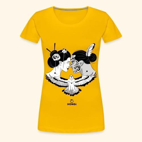 HONGi MaoriJapanese s - Frauen Premium T-Shirt