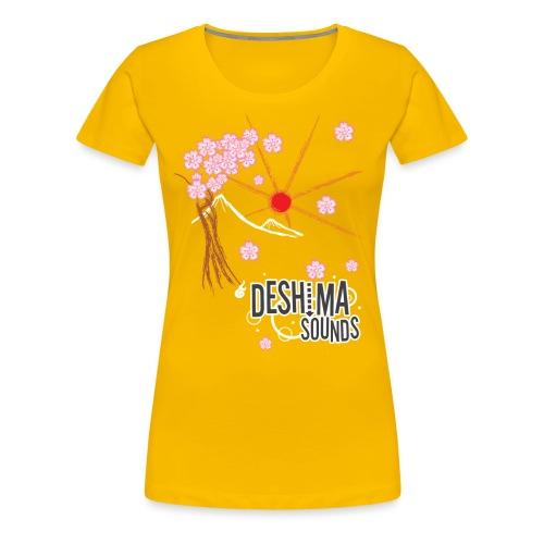 Deshima Sounds 02 2009 - Vrouwen Premium T-shirt