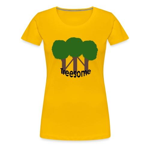 Treesome - Vrouwen Premium T-shirt
