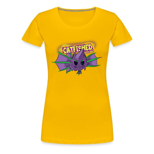 cat fish - Women's Premium T-Shirt