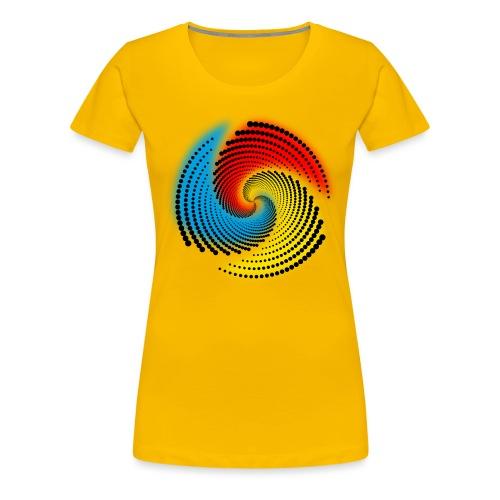 Farbspirale - Frauen Premium T-Shirt