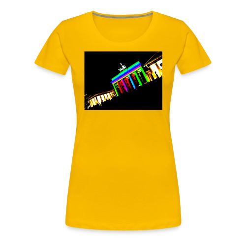 berlin2 png - Frauen Premium T-Shirt