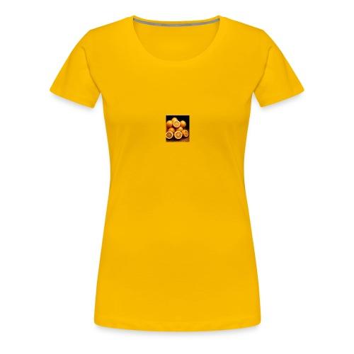 oranges - Frauen Premium T-Shirt