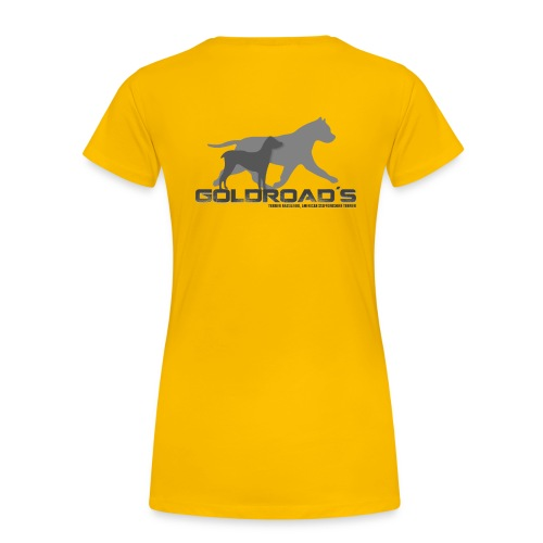 Goldroads - Premium-T-shirt dam