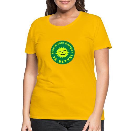 Erneuerbare Energie 02 - Frauen Premium T-Shirt