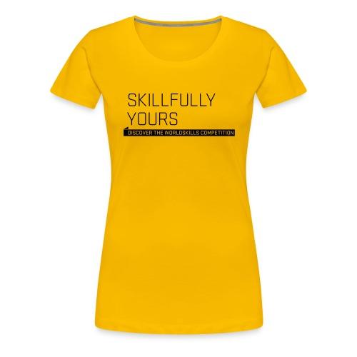 wsl typomotive schwarz 6 - Women's Premium T-Shirt