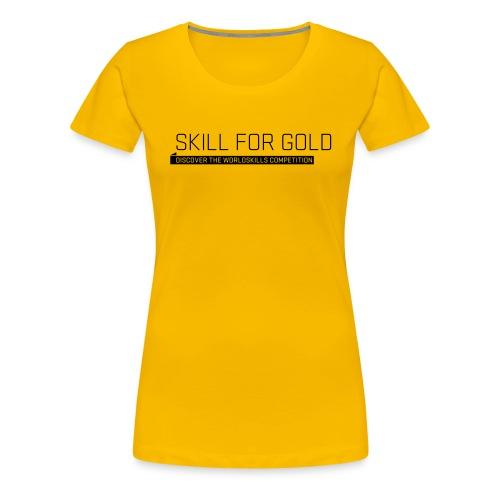 wsl typomotive schwarz 4 - Women's Premium T-Shirt