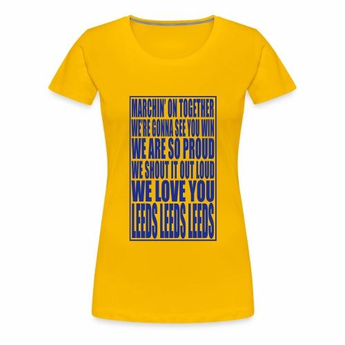 MOT CHORUS - Women's Premium T-Shirt
