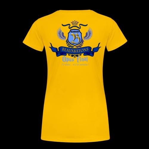 LOGO BB 3 - T-shirt Premium Femme