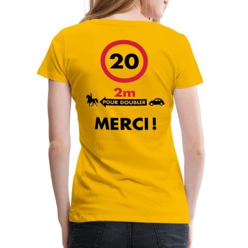 MERCI - MTS - T-shirt Premium Femme