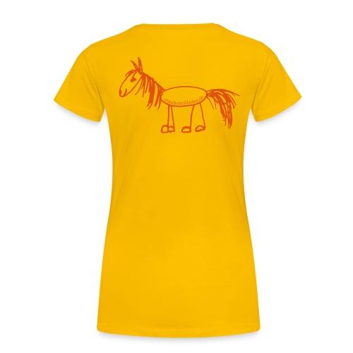Wanderpferd - Frauen Premium T-Shirt
