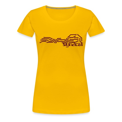 syn2cat pcb - Women's Premium T-Shirt