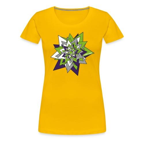 S33 Star 3 - Frauen Premium T-Shirt