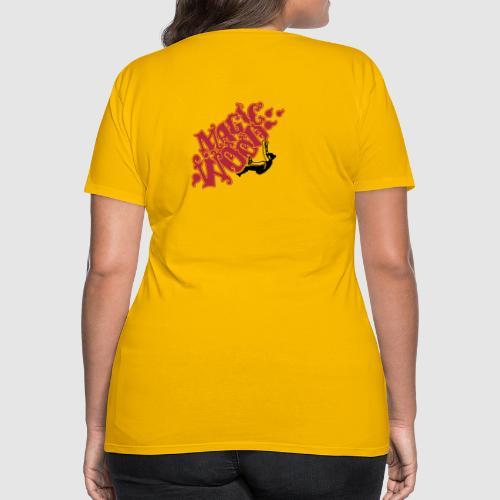 merlin in magic wood - Frauen Premium T-Shirt