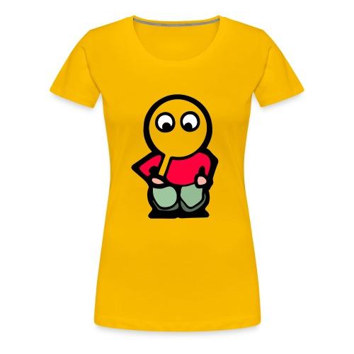itoopieseethru24kx4k - Women's Premium T-Shirt