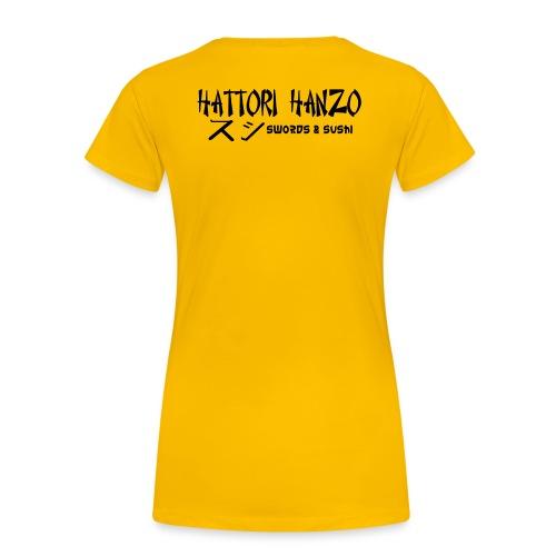 hattorihanzo - Frauen Premium T-Shirt