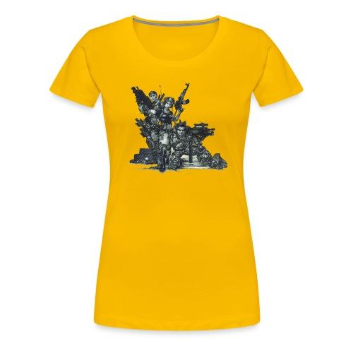 GUELDIN CANDROID png - Frauen Premium T-Shirt