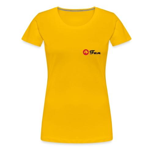 mein-zelt-steht-schon - Shirt klimaneutral (hell) - Frauen Premium T-Shirt