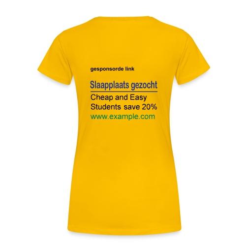 gezocht - Vrouwen Premium T-shirt