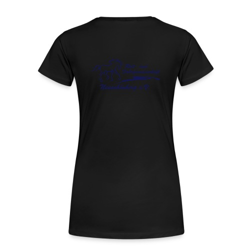 komplettes Logo - Frauen Premium T-Shirt