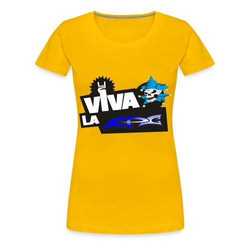 viva la cpc png - Frauen Premium T-Shirt
