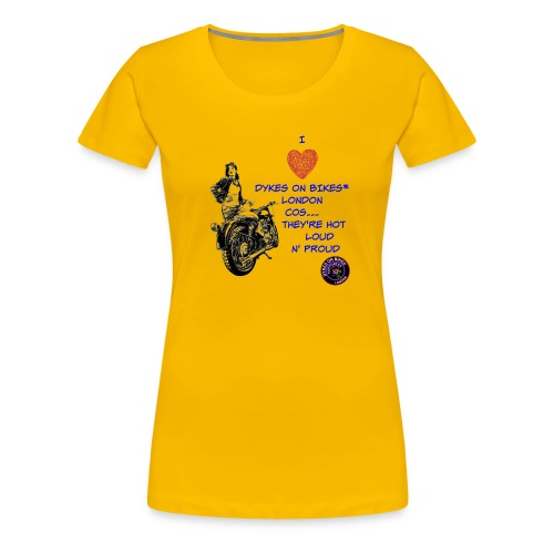 SUPPORTER DOB - Women's Premium T-Shirt