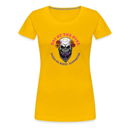 Day of the Dyke supporter - Women's Premium T-Shirt