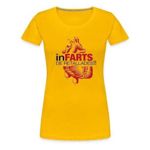 logo infarts png - Camiseta premium mujer