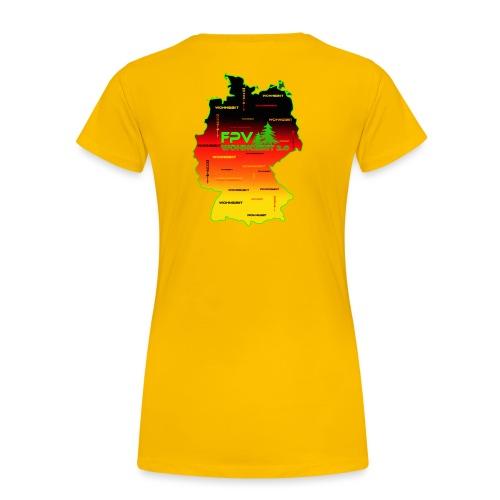 überall wohngibiit - Frauen Premium T-Shirt