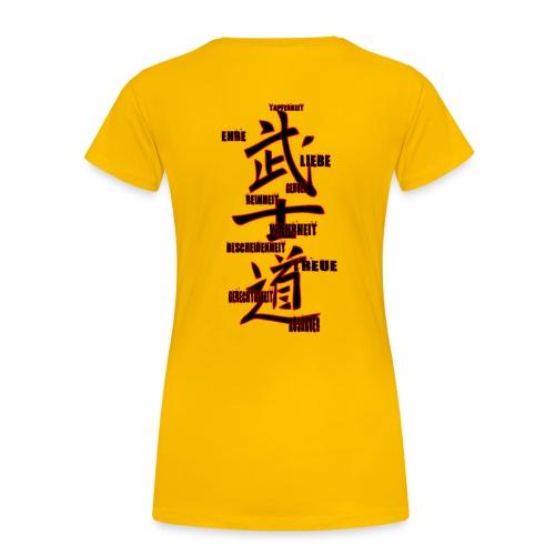 BUSHIDO gif - Frauen Premium T-Shirt