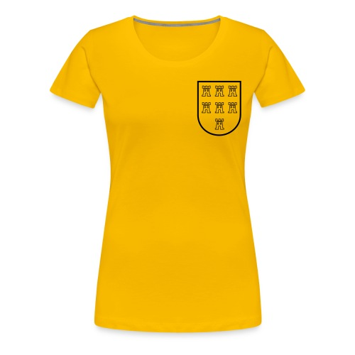 wappen black - Frauen Premium T-Shirt