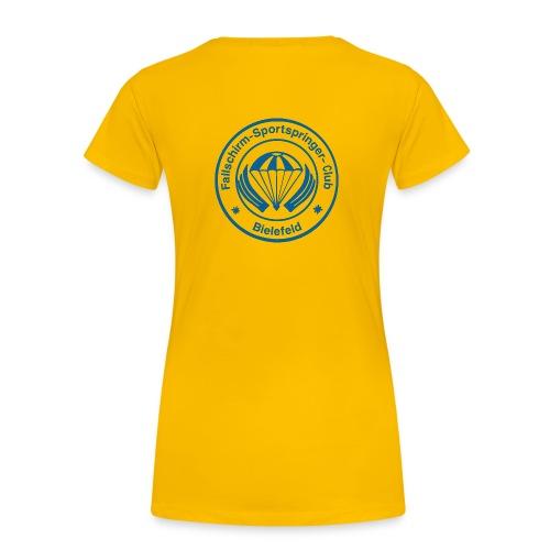 FSC Logo v3 Fotor gif - Frauen Premium T-Shirt
