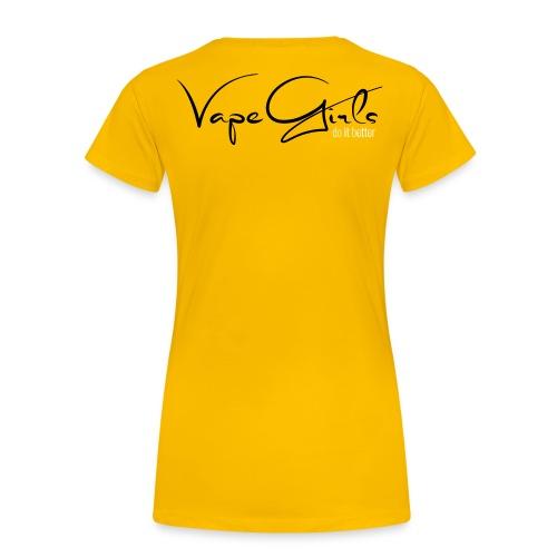 VapeGirls - do it better - Frauen Premium T-Shirt