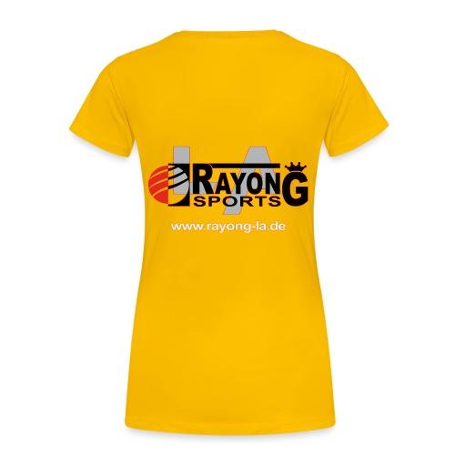 rayong-logo - Frauen Premium T-Shirt