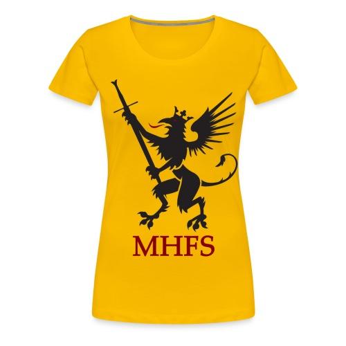 MHFS Logga Pixel png - Premium-T-shirt dam