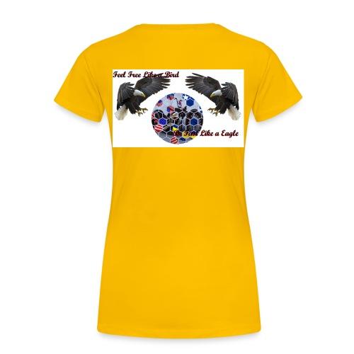 Feel Free - Vrouwen Premium T-shirt