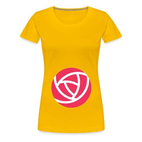 Flowjob Logo - Women's Premium T-Shirt