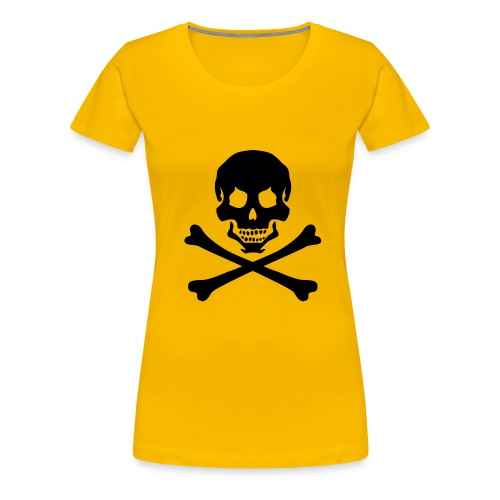 pirateskull - Women's Premium T-Shirt