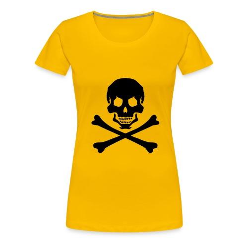 pirateskull - Women's Premium T-Shirt