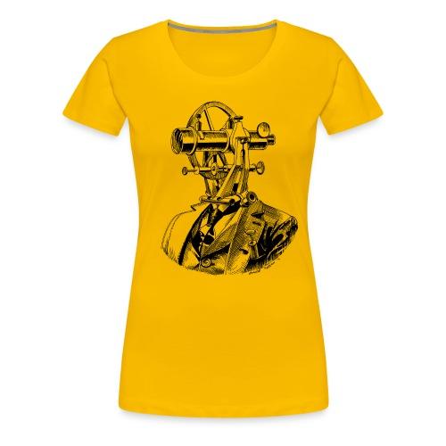 Theodolite Head v2 - Women's Premium T-Shirt