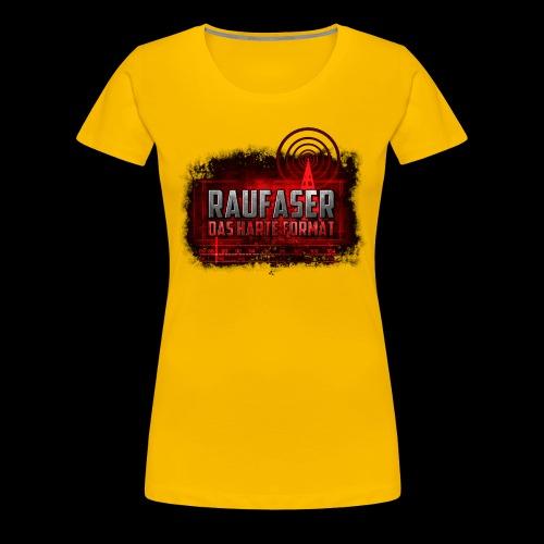 Raufaser Logo - Frauen Premium T-Shirt