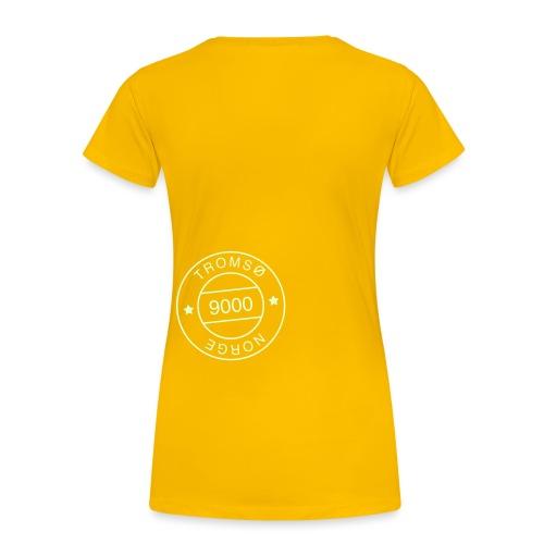 9000tlogostorre - Premium T-skjorte for kvinner