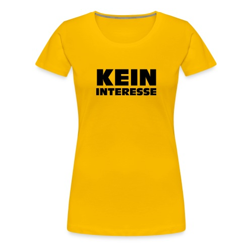 KWICK! Logo kontur - Frauen Premium T-Shirt