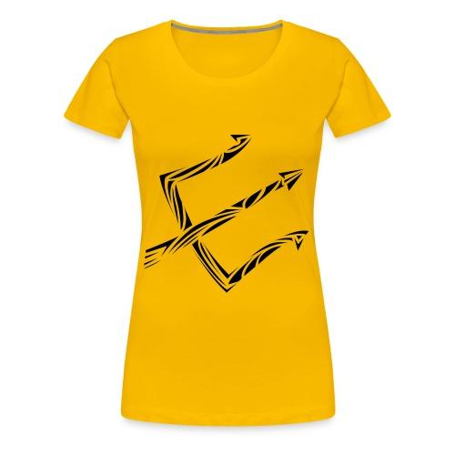 Neptun_FRONT - Frauen Premium T-Shirt