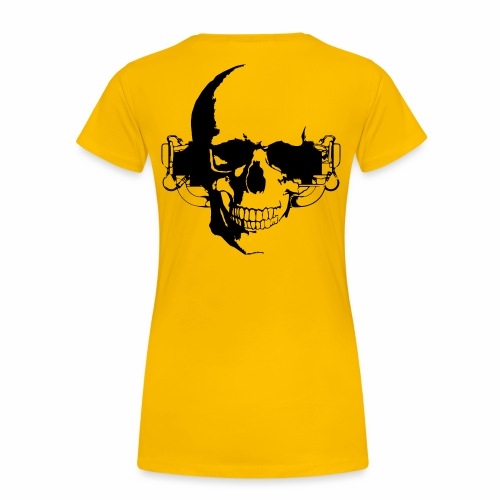 O 360 Skull - Frauen Premium T-Shirt
