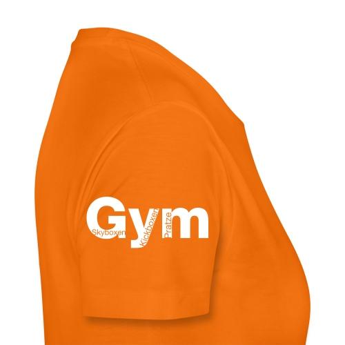 Gym weiß - Frauen Premium T-Shirt